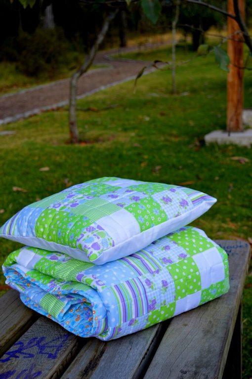 Baby Boy Handmade Patchwork Quilt