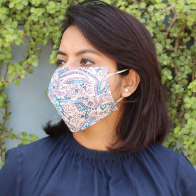 15% Sale Assorted Face Mask- Reusable & Washable - Adult Mask Washable Organic Cotton Printed