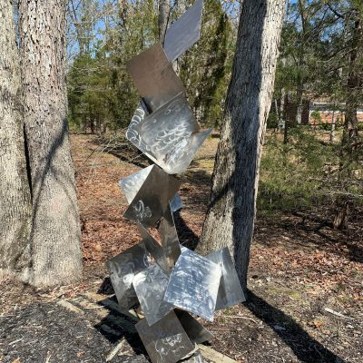 Sotto Stainless Steel Sculpture Large Abstract
