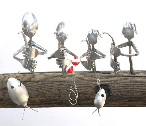 Custom Family Fishing Wind Chime, Unique Christmas Birthday Or Father's Day Gift, Beautiful Soulful Addition To Any Garden, Porch Patio