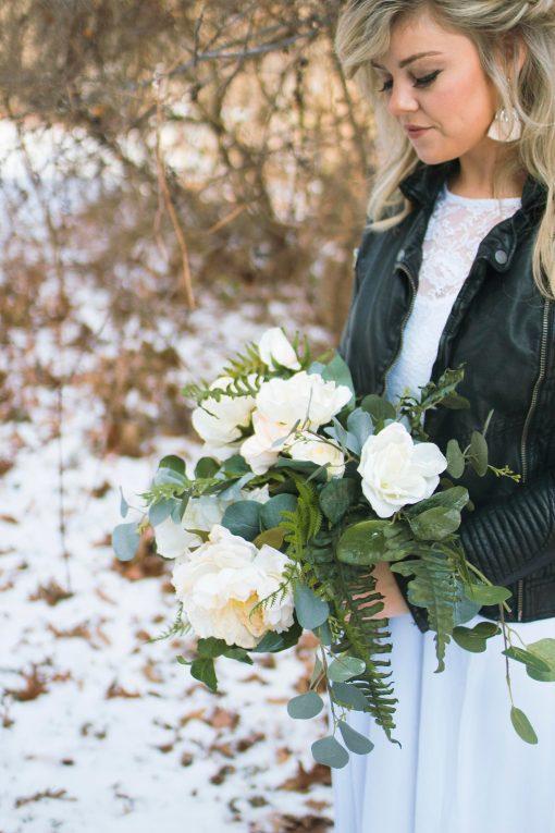 Bridal Bouquet, Silk Wedding Bouquet, Brides Bridesmaid Bouquets, Boho Bride, Garden Fresh Bouquet