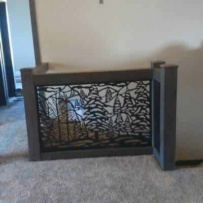 Metal Gate Custom Plasma Cut Panel Etsy Handmade Garden/Metal Insert Large Custom Home Decor Usa Made