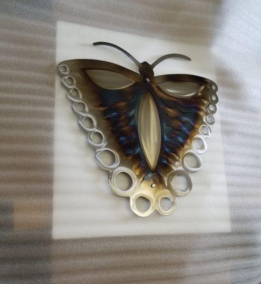 Butterfly Wall Art Decor Etsy Handmade Butterfly Metal Art, Plasma Cut Design, Garden Silver Butterflies, Home