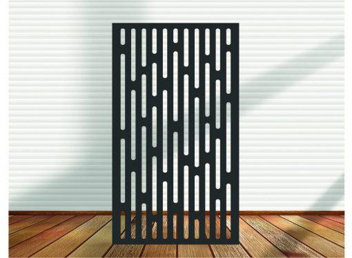 Metal Panel, Privacy Screen, Fence, Decorative Wall Art, Garden Indoor & Outdoor - Dca2.9