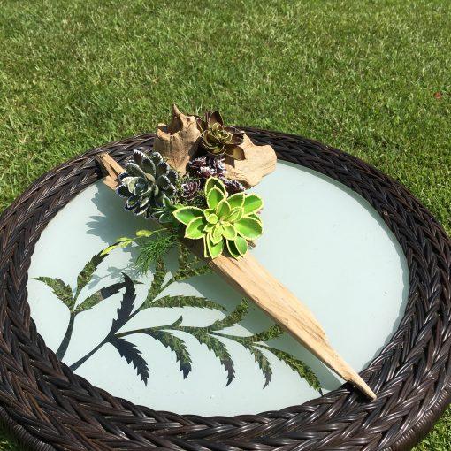 Succulent Centerpiece, Artificial Arrangement, Floral Décor
