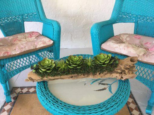 Succulent Arrangement, Centerpiece, Artificial Garden ~ Great Valentine's Day Gift Idea