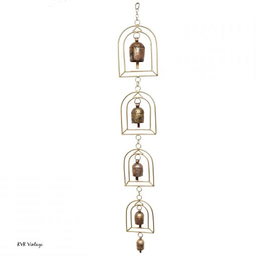 Long Temple Bell Chime - Wind Chimes Garden Decoration Fair Trade Home Décor
