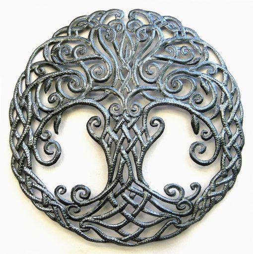 Tree Of Life, Metal Tree, Wall Art, Irish Celtic Knot, Design, Outdoor Decor, Gift, 348