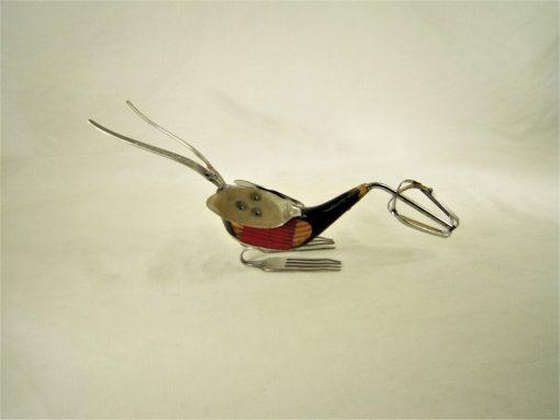 Antique Golf Club Driver Bird Sculpture No.11