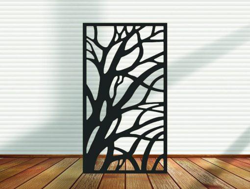 Metal Panel, Privacy Screen, Fence, Decorative Wall Art, Garden Indoor & Outdoor - Design 20
