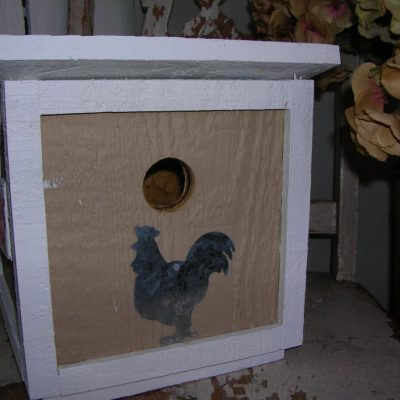 Chicken Coop-Birdhouse-Handmade-Rooster-Eggs Sign-Hen House-Chicken Birdhouse-Poultry-Yard Art-Garden Decoration-Poultry-Hens-Chicks-Chicken