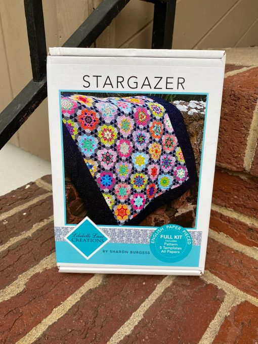 stargazer Quilt By Sharon Burgess- Lillabelle Lane Creations - Epp Kit Papers, Pattern, Template Included