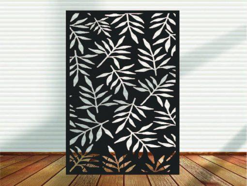 Metal Panel, Privacy Screen, Fence, Decorative Wall Art, Garden Indoor & Outdoor - A3