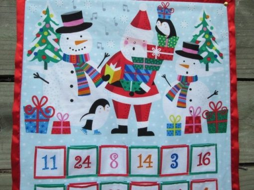 Advent Calendar For Kids, Personalized Option, Wall Hanging