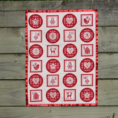 Advent Calendar Wall Hanging For Kids Or Adults, Can Be Personalized