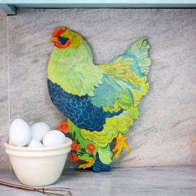 Brahma Chicken, Brahma, Chicken Ornament, Decor, Coop Signs, Sign, Chickens, Backyard Wood Sign