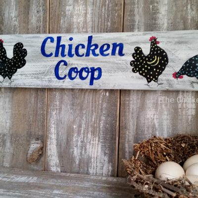 Chicken Coop Sign, Whimsical, Decor, Original Art, Wood Sign, Outdoor, Gift, Rooster, Hen