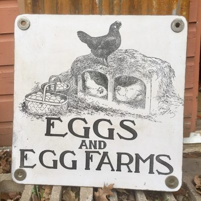 Farmhouse Large Sign Decor , Chicken Coop 24 X Inches, Egg Farm Barn