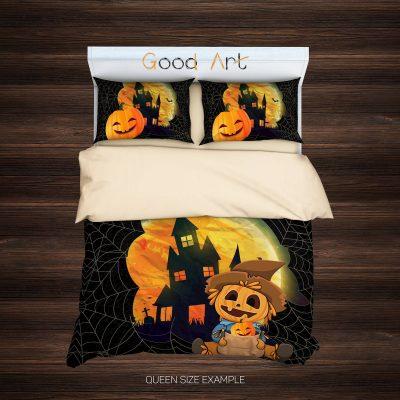 Halloween Comforter, Teen Duvet, Art Duvet, Happy Halloween, Childs Duvet, Kids Bedroom, Duvet Quilts, Pumpkin Blanket, Teen Comforter