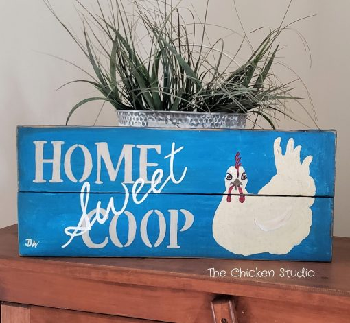 Home Sweet Coop, Chicken Coop, Farm Sign, Reclaimed Wood, Animals, Gifts, Gift, Wood Art
