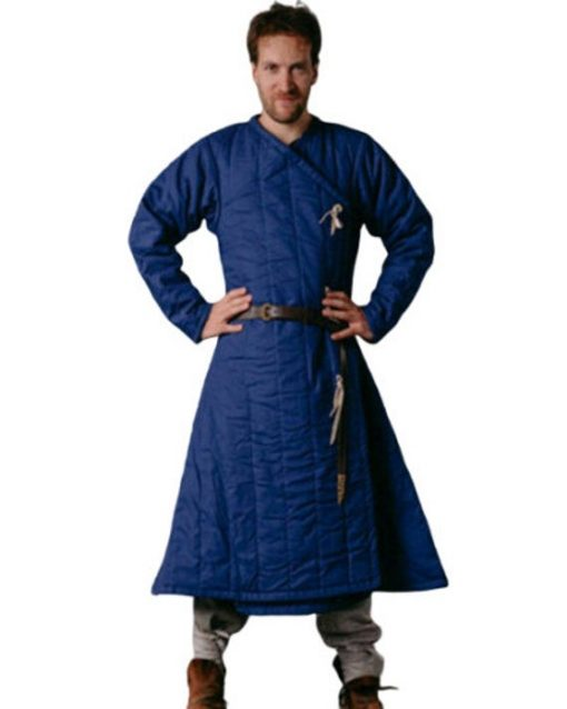 Medieval Thick Padded Viking Gambeson, Jacket Reenactment Sca
