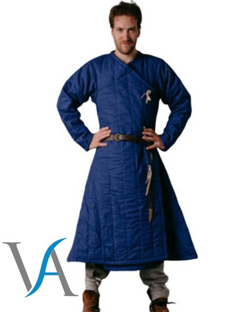 Medieval Thick Padded Viking Gambeson, Jacket Reenactment Sca Best Gift For Halloween, Christmas, Newyear, Birthday