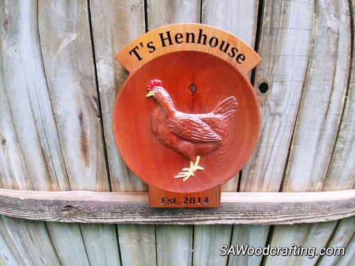 Personalized All Weather Barn Sign, Chicken Coop Name Plaque, Trophy Custom Farm Business Signage, & Decor Signs