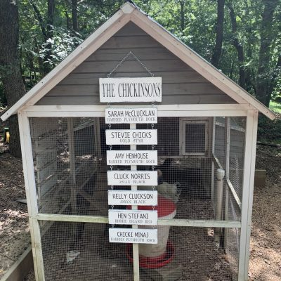 Personalized Chicken Coop Sign, Hanging Names Barn Goat Farm Sign