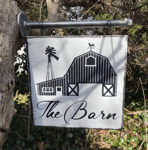 The Barn Sign, Farm Coop Signs, Chicken Signs, Tack Room, Custom Coop Vintage
