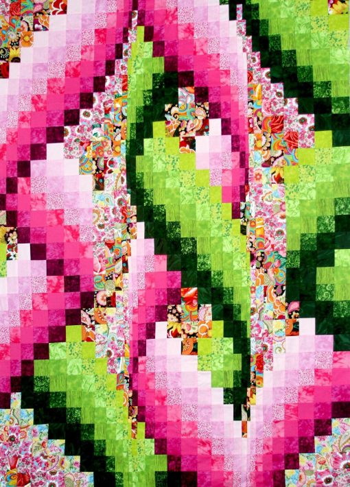 The Silly String Quilt Kit
