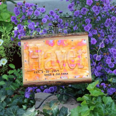 Wedding Sign, Custom Anniversary Gift, Barn Decor, Family Sign, Office Name Housewarming, Room Decor