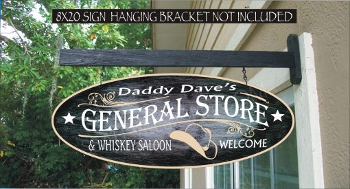 2019 Western Sign, General Store, Cowboy Hat Gift, Decor, Cowgirl Gifts, Custom Personalized Painted Sign