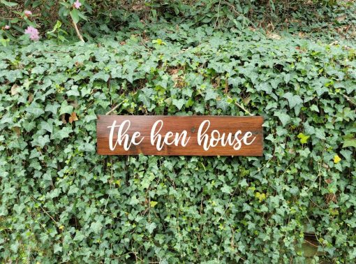 The Hen House Funny Chicken Coop Sign