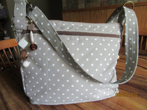 Water Repellant Fabric Purse With Secured Zipper 100% Handmade