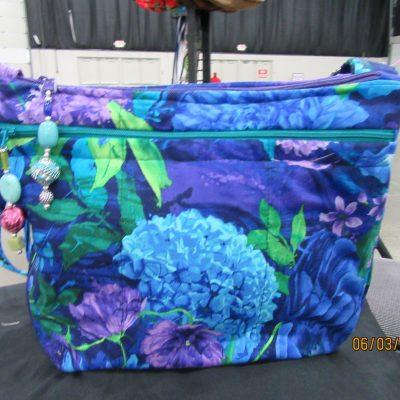 Mums Cross Body Fabric Purse 100% Handmade