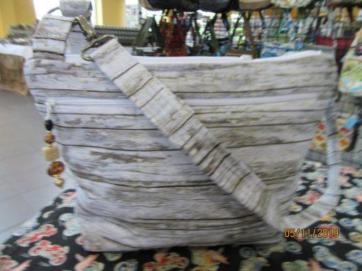 Birch Fabric Cross Body Purse 100% Handmade