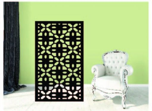 Metal Panel, Privacy Screen, Fence, Decorative Wall Art, Partition, Indoor & Outdoor - Adc4