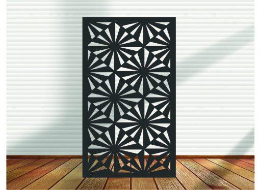 Metal Panel, Privacy Screen, Fence, Decorative Wall Art, Garden Indoor & Outdoor - Dca2.13