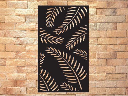 Metal Panel, Privacy Screen, Fence, Decorative Wall Art, Garden Indoor & Outdoor -Pp1