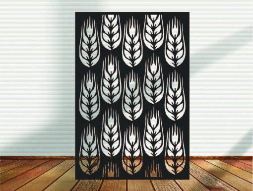 Metal Panel, Privacy Screen, Fence, Decorative Wall Art, Garden Indoor & Outdoor - A2