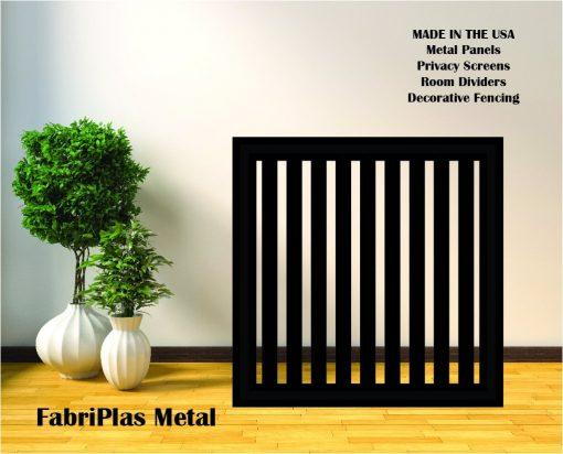 Metal Panel, Privacy Screen, Fence, Decorative Wall Art, Garden Indoor & Outdoor - 091-4 Journey