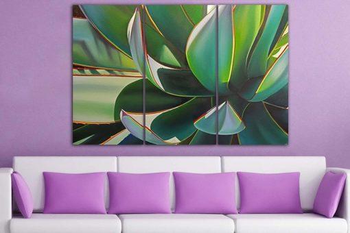 Succulent Print Canvas Botanical Flower Wall Art Deco Poster Nature Cactus Gift Flower