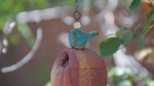 Handmade Birthday Gift For The Nature Lover, Boho Windchimes, Outdoor Wind Chime Art