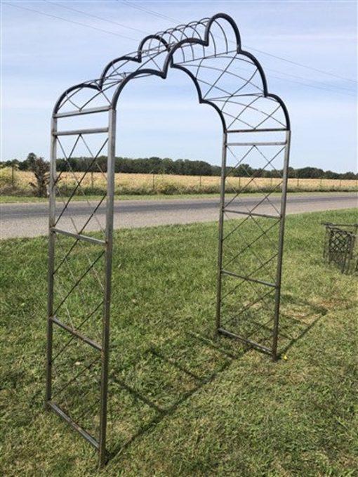 Cloud Metal Garden Arch, Flower Arbor, Outdoor Trellis, Wedding Archway, A, Décor, Lawn Yard Art, Arch