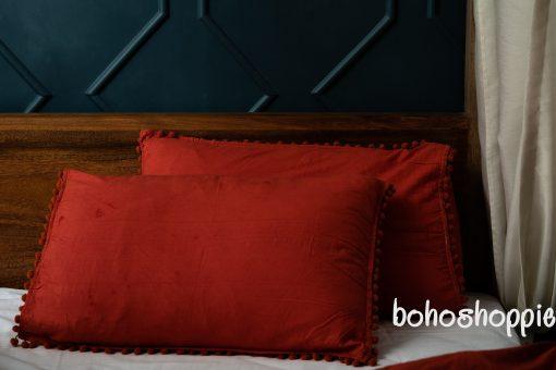 Soft Cotton Fabric/Donna Duvet Cover Blanket/Bohemian Room Decor Queen Comforter/Dorm Quilt Bed Sheet Pillowcase Tussle Shams/Zip Closure