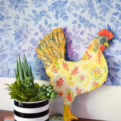 Appenzeller Spitzhauben, Chicken Ornament, Decor, Coop Signs, Chickens, Backyard Wood Sign