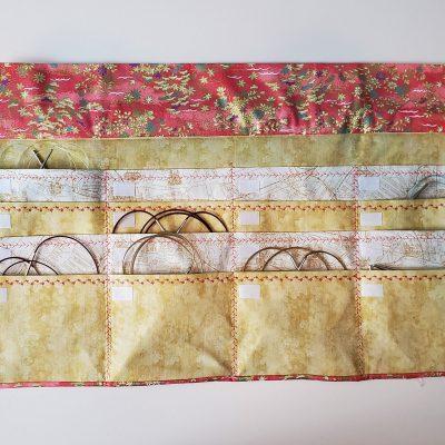 Circular Knitting Needles Case Organizer With Labels