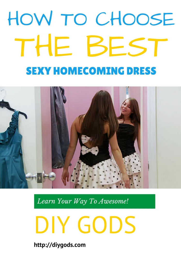 HOW TO CHOOSE A HOMECOMING DRESS